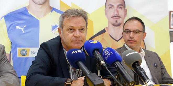 apoel bank of cyprus prodromos petrides mprountzos