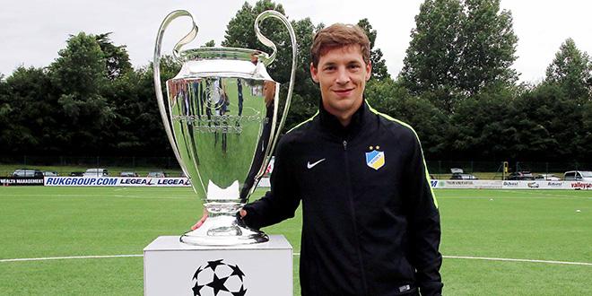 e01 the new saints apoel devi champions league trophy
