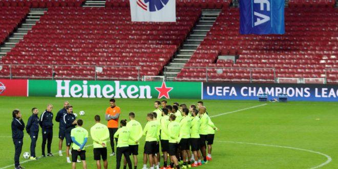 training copenhagen stadium